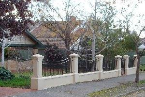 fence pillars