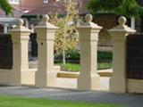 Period Gate Pillars
